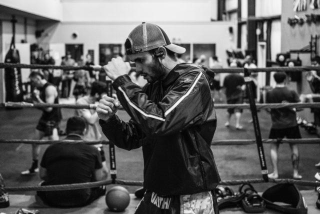 ボクシング スパー 練習